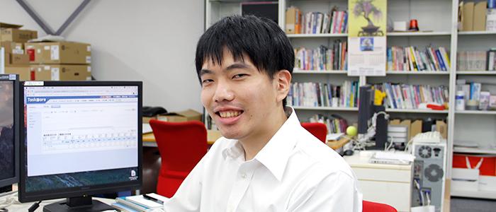 システム開発部 開発チーム 遠藤 龍太郎